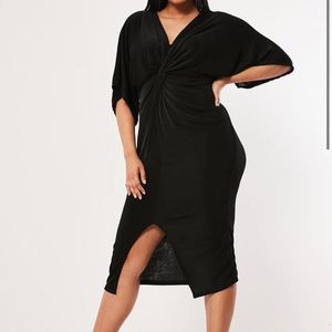 NWT Missguided dress. Twist front. Never worn